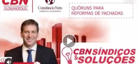 Acompanhem o programa na #CBN Síndicos e Soluções! Com orientações de Ricardo Karpat!