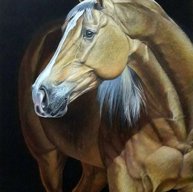 THE HORSE GOLDEN PEARL