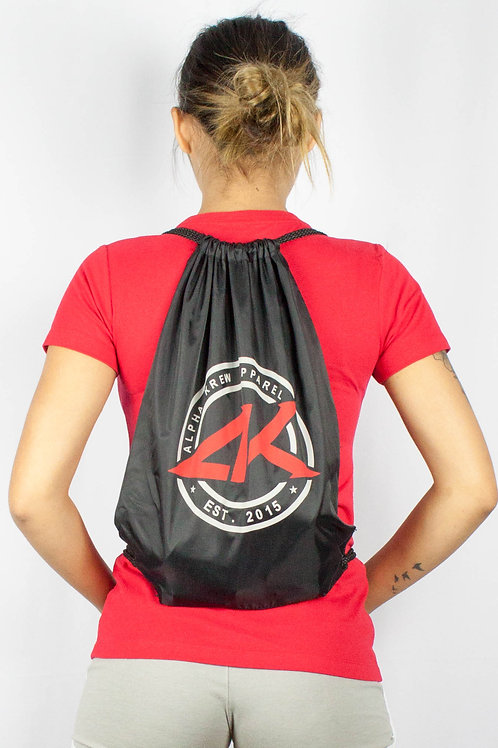 Blk AK Seal Drawstring Bag