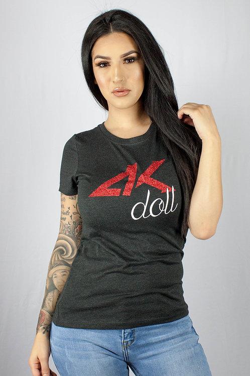 Blk AK Doll Womens KrewNeck