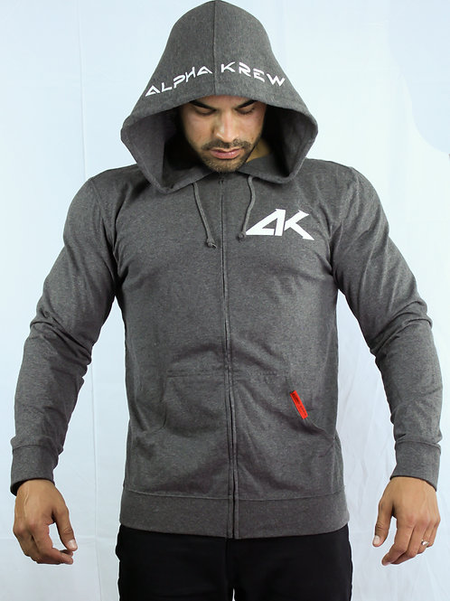 Mens Seal Zip-up Hoodie