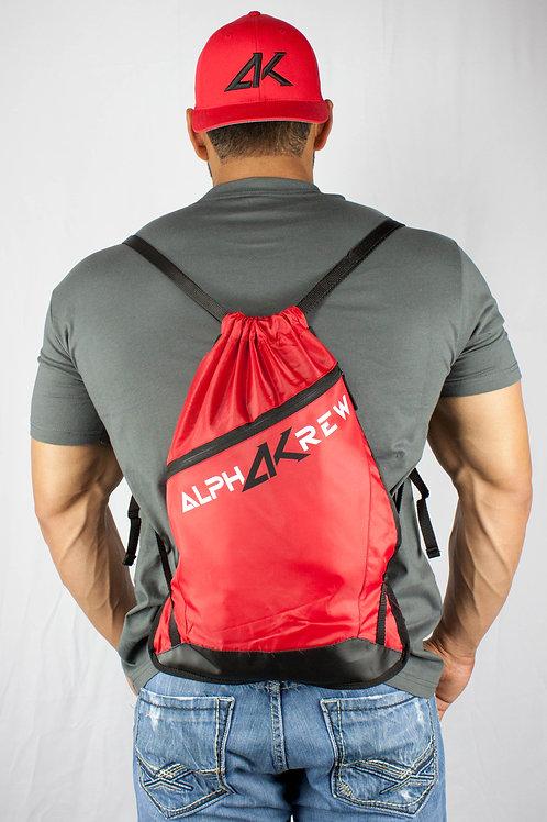 Red AK Drawstring Bag