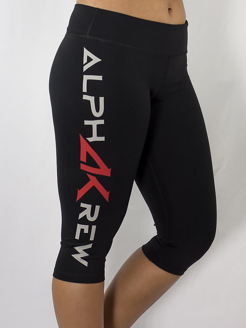 Logo Capri Leggings