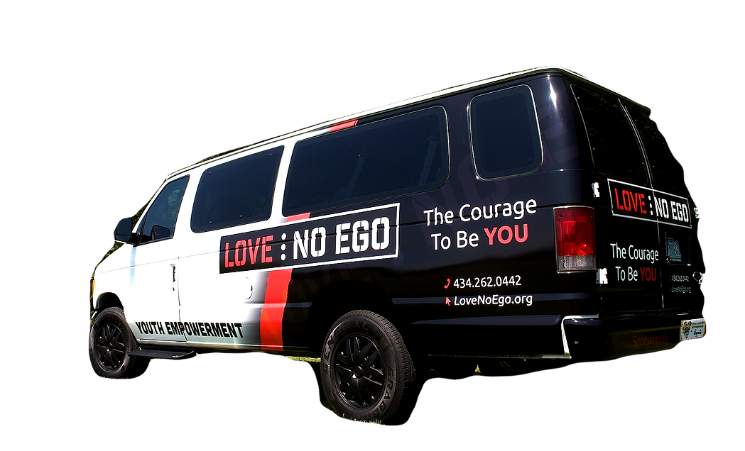 The Love No Ego Van and Events