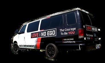 Love No Ego Van and Events