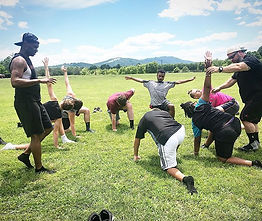 Youth Athletic Personal Training with the youth.