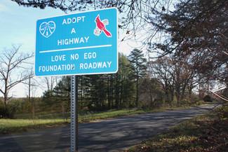 Love...No Ego Foundation Roadway