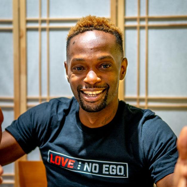 Mentor Freddy of The Love No Ego Foundation