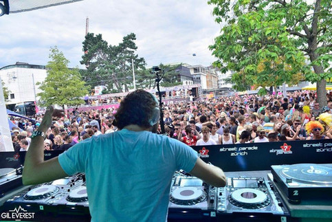 My last gig at Street Parade Zurich