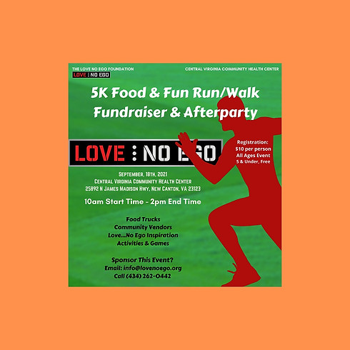 5K Food and Fun Run/Walk Fundraiser & Afterparty! FREE EVENT!