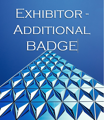 Exhibitor - Additional Representative Badge