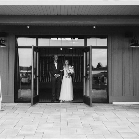 The Bride's Walk