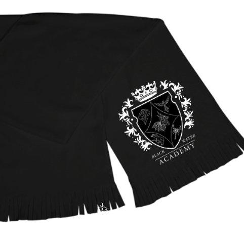 Black Water Academy Crest Scarf