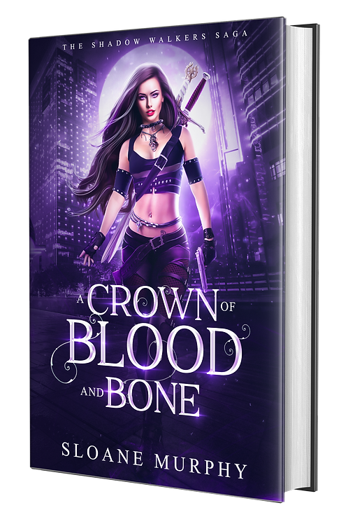 A Crown of Blood and Bone, The Shadow Walkers Saga #1