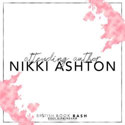 BritishBookBash- attending author - NIKK