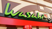 Wasabi Storefront Fabrications and Signage