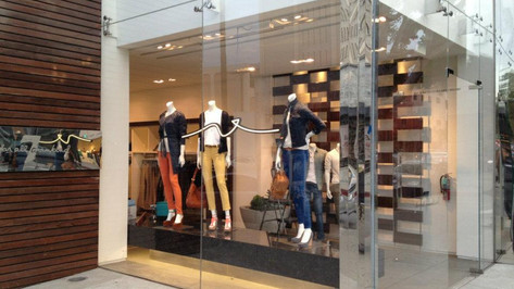 7 For All Mankind Storefront