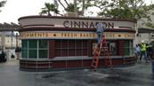 Cinnabon Kiosk Signage & Fabrications