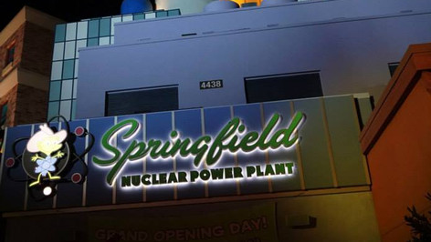 Springfield Nuclear Power Plant Signage