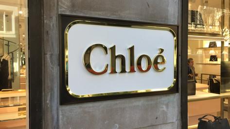 Chloe Storefront Signage