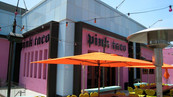 Pink Taco Storefront Signage