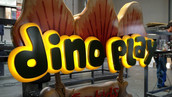 River Adventure Ride / Dino Play Signage