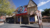 Betty Boop Cartooniversal Storefront Signage