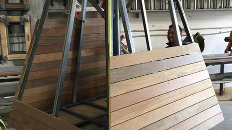 Elan Apartments Custom Fabrication