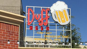Duff Brewery Signage