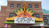 The Aztec Theater Signage