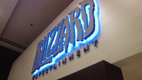 Blizzard Entertainment Lobby Sign