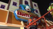 Krusty Burger Signage
