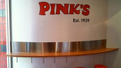 Pink's Wall Graphic
