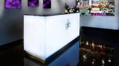 Salon Glo Illuminated Reception Desk