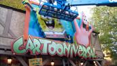 Sponge Bob Cartooniversal Storefront Signage