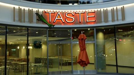 Taste Restaurant Signage