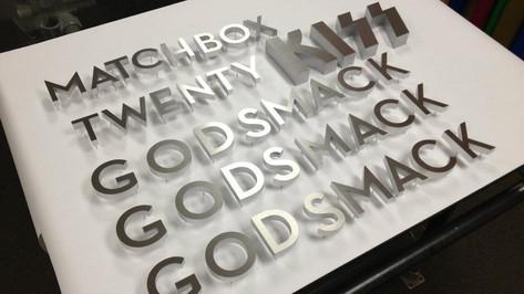 Hard Rock Hotel Display Letters