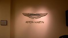 Aston Martin Waiting Room Sign