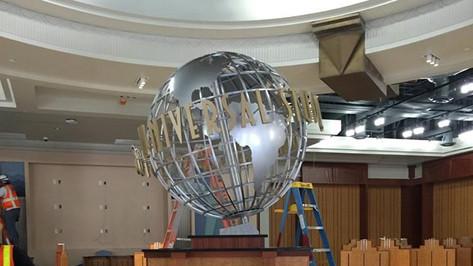 Universal Studios Globe Fabrication