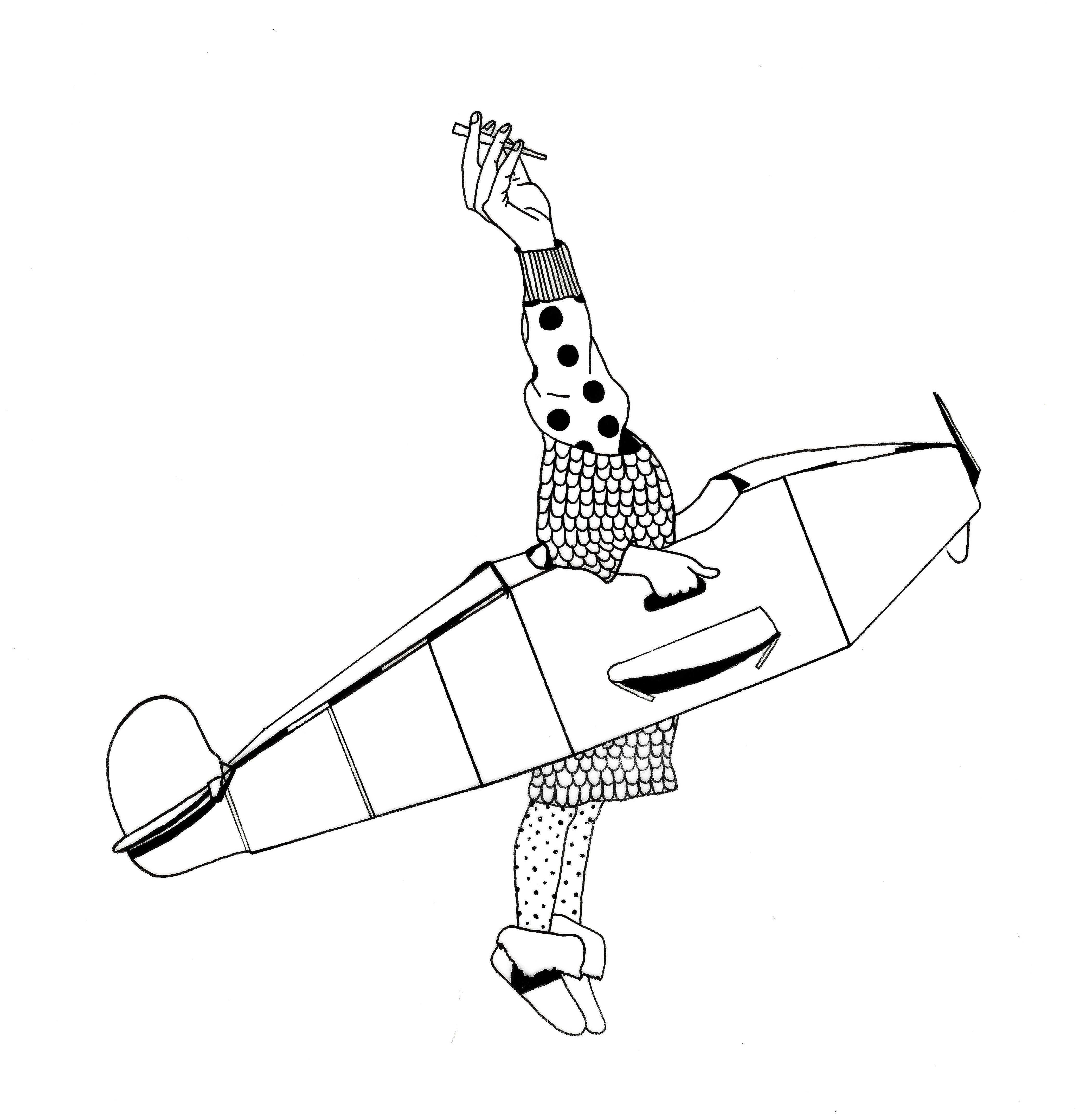 High Plane by N.L.