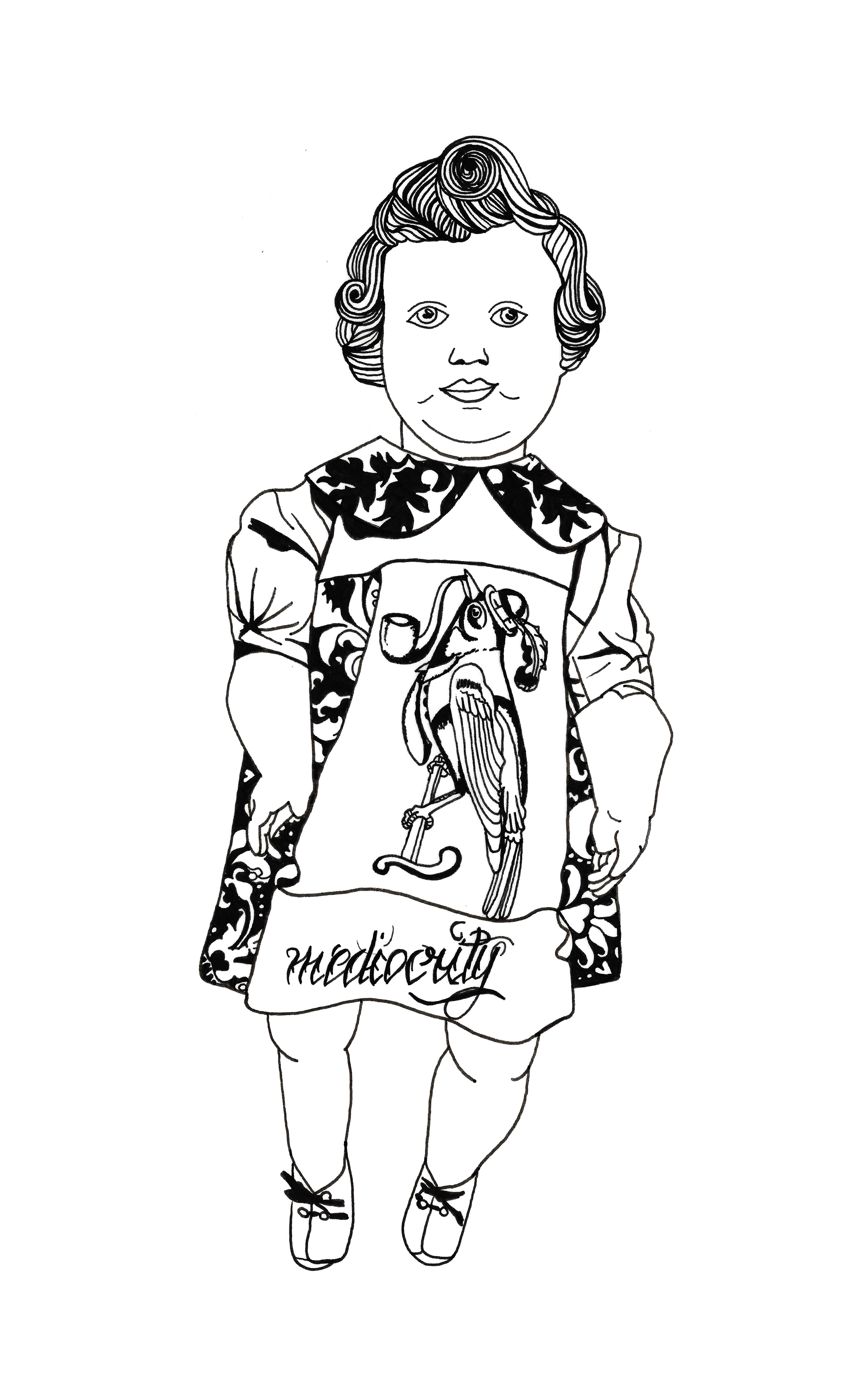 Vintage Doll by N.L.
