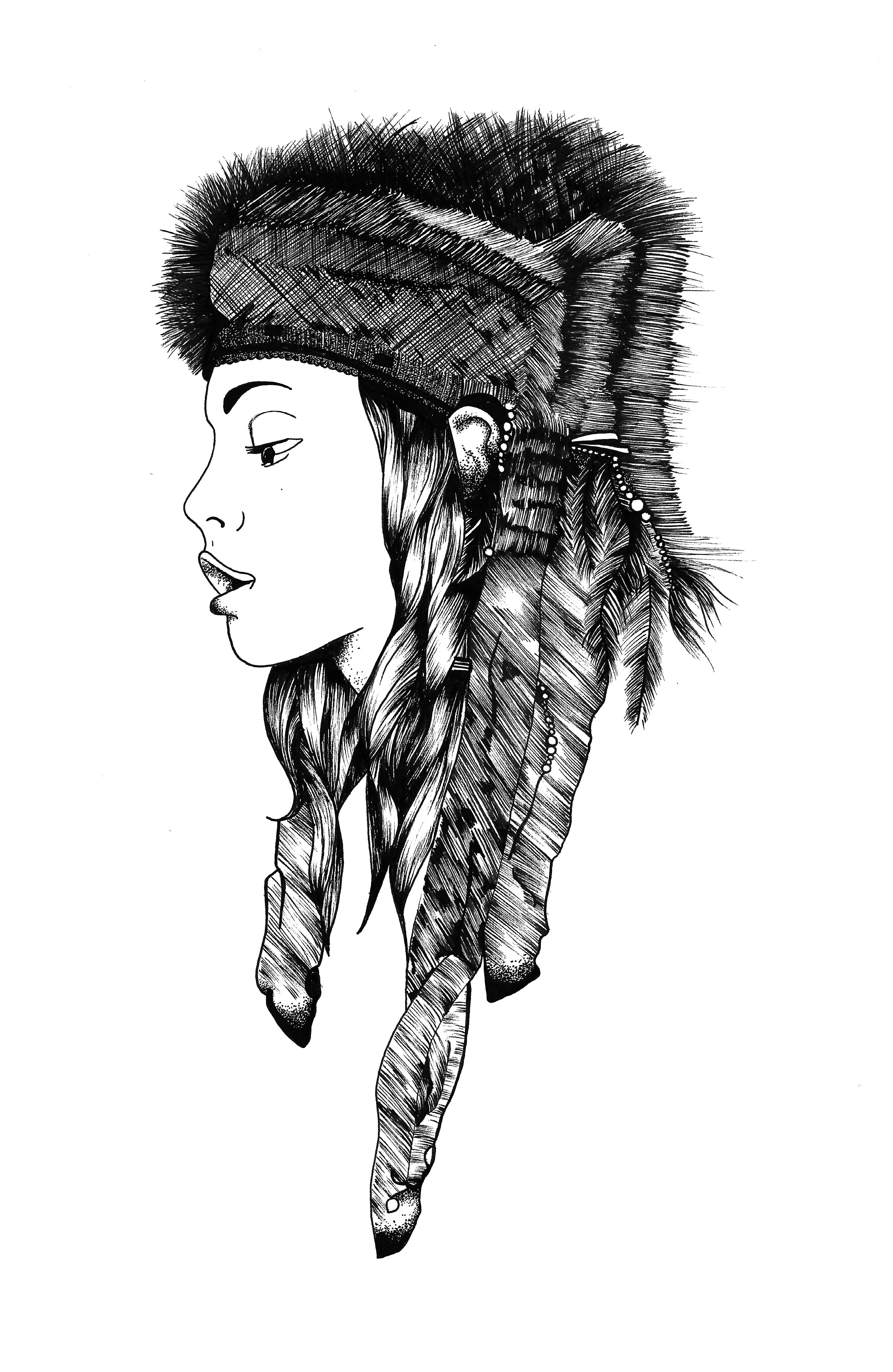 Squaw by N.L.