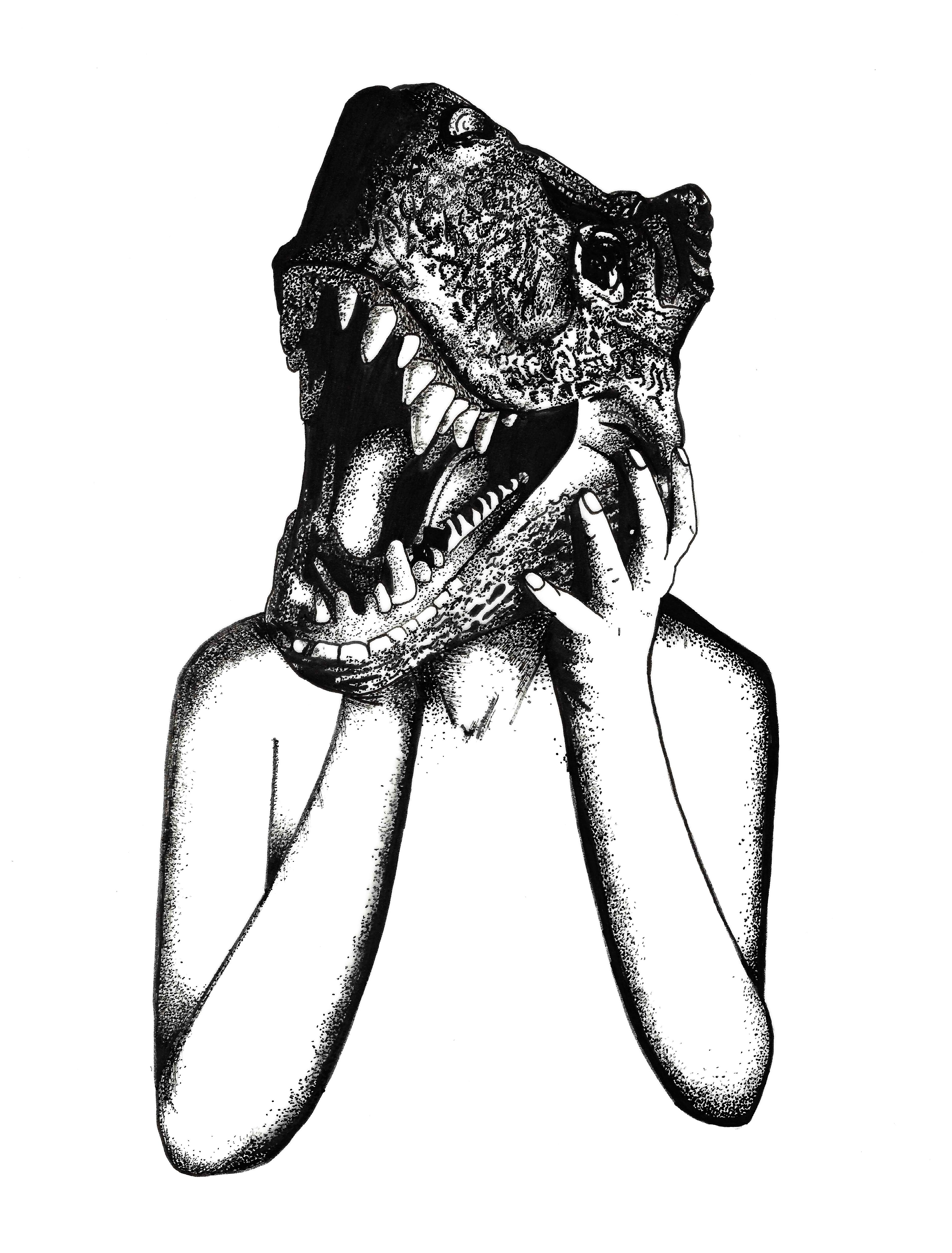 Sexy T-Rex by N.L.