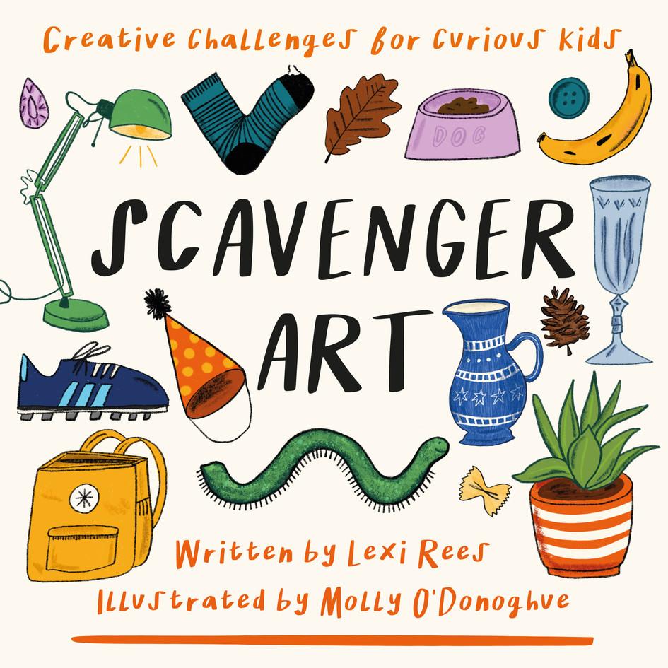 Scavenger Art (Front Cover)