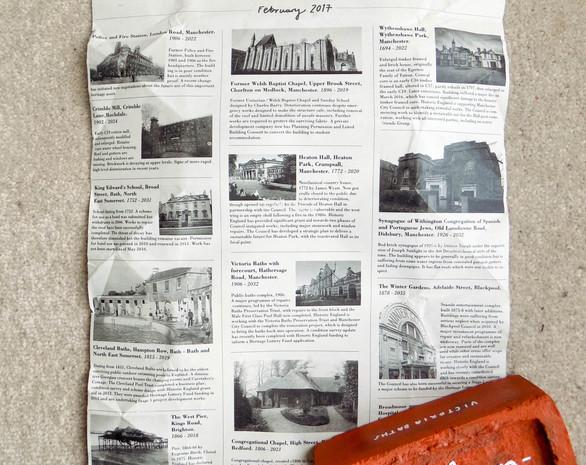 The Obricktuary of Brick Buildings