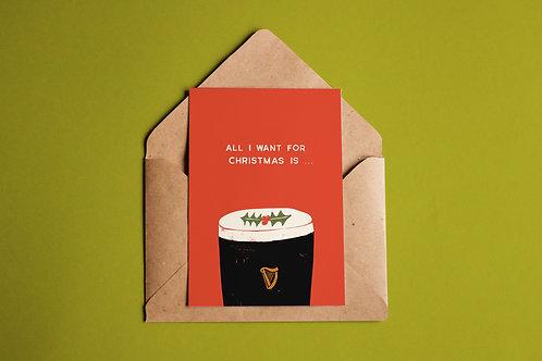 Guinness Card
