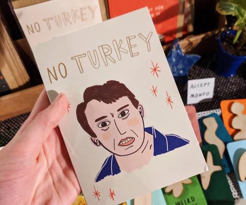 Peep Show Christmas Card