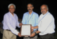 Award from Dr Vijayraghavan