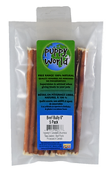 PW Beef Bully Stick 6 Inch 5 Pack.png