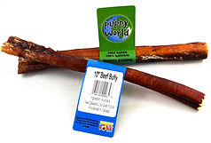 Puppy World Beef Bully Stick 10""